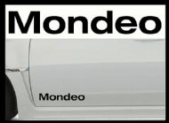 FORD MONDEO NEW LOGO CAR BODY DECALS
